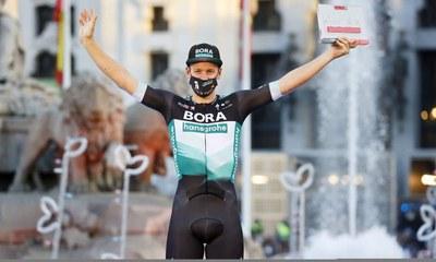 Ackermann ganador de la etapa 18 de la Vuelta a España 2020