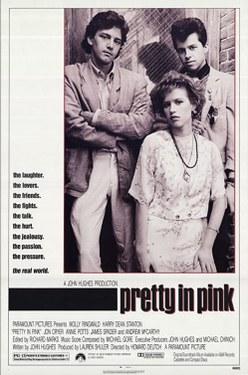 La chica de rosa