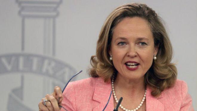 Nadia Calviño, ministra de Asuntos Económicos y Transformación Digital de España.