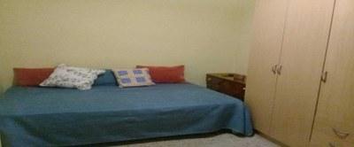 Habitación de Alexandra, inmigrante colombiana que vive en un piso compartido / CEDIDA