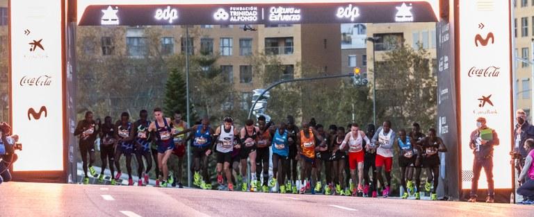 La 'Elite Edition' clasifica a la Maratón de València 2020 como la tercera maratón más rápida del mundo en su 40 aniversario