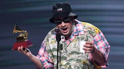 Bad Bunny gana Latin Grammy
