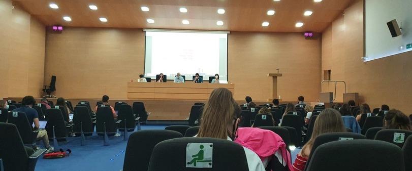 Periodistas ponentes en la segunda mesa del XII Congreso de Periodismo Digital de la Comunidad Valenciana