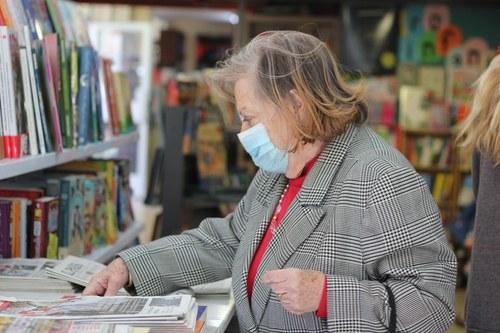 Las clientas de la  Librería Berlín ha sido fieles durante la pandemia