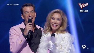 Arturo Valls y Norma Duval en la Gala 3