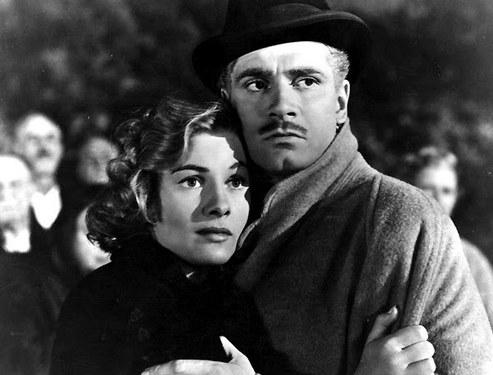Laurence Olivier y Joan Fontaine. Foto: Encadenados.org