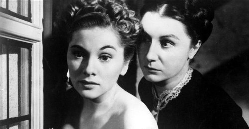 Joan Fontaine y Judith Anderson. Foto: United Artists