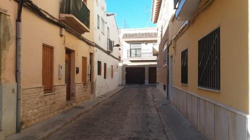 Una calle del barrio del Alter
