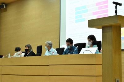 Segunda mesa del XII Congreso de Comunicación Digital en Valencia