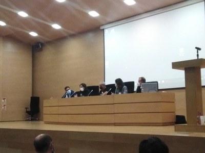 Tercera mesa del XII Congreso de Comunicación Digital en Valencia