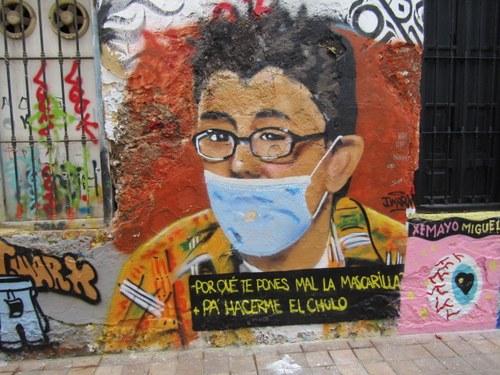Mural cómico sobre anécdota en El diario de Patricia