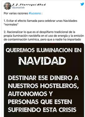 Campaña #LucesNo