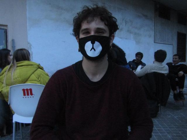 Samuel Valentín Belenguer, socio de Dessex y trabajador en el programa InfoSex Jove. NIEVES CLIMENT.