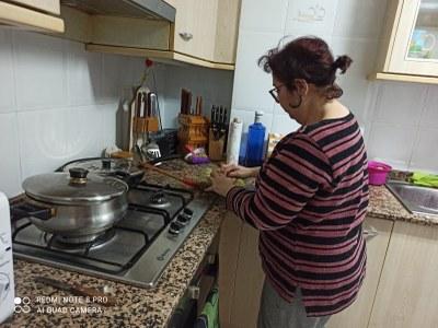 Tareas domésticas durante la cuarentena.