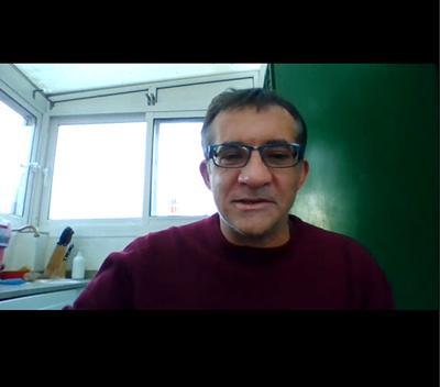 Marc Candela, coordinador de acción sindical de STEPV. NIEVES CLIMENT